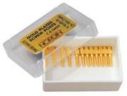 Pivoti endodontici auriti