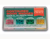 Pene de lemn Clinician's Choice refill 10 buc