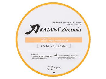Disc zirconiu Katana HT 10mm