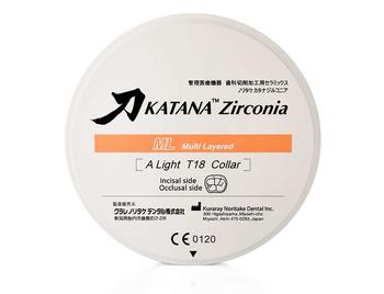 Disc zirconiu Katana ML 18mm