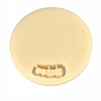 Disc PMMA Clear Calcinabil 12mm Polident
