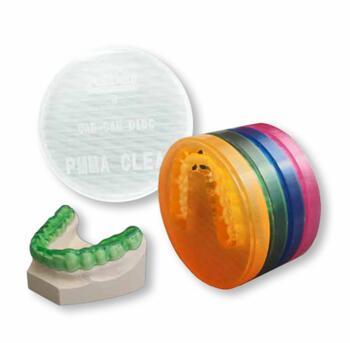 Disc PMMA Splint Rigid Polident 16mm