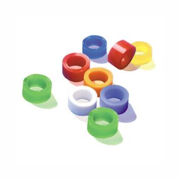 Inele silicon colorate mici set